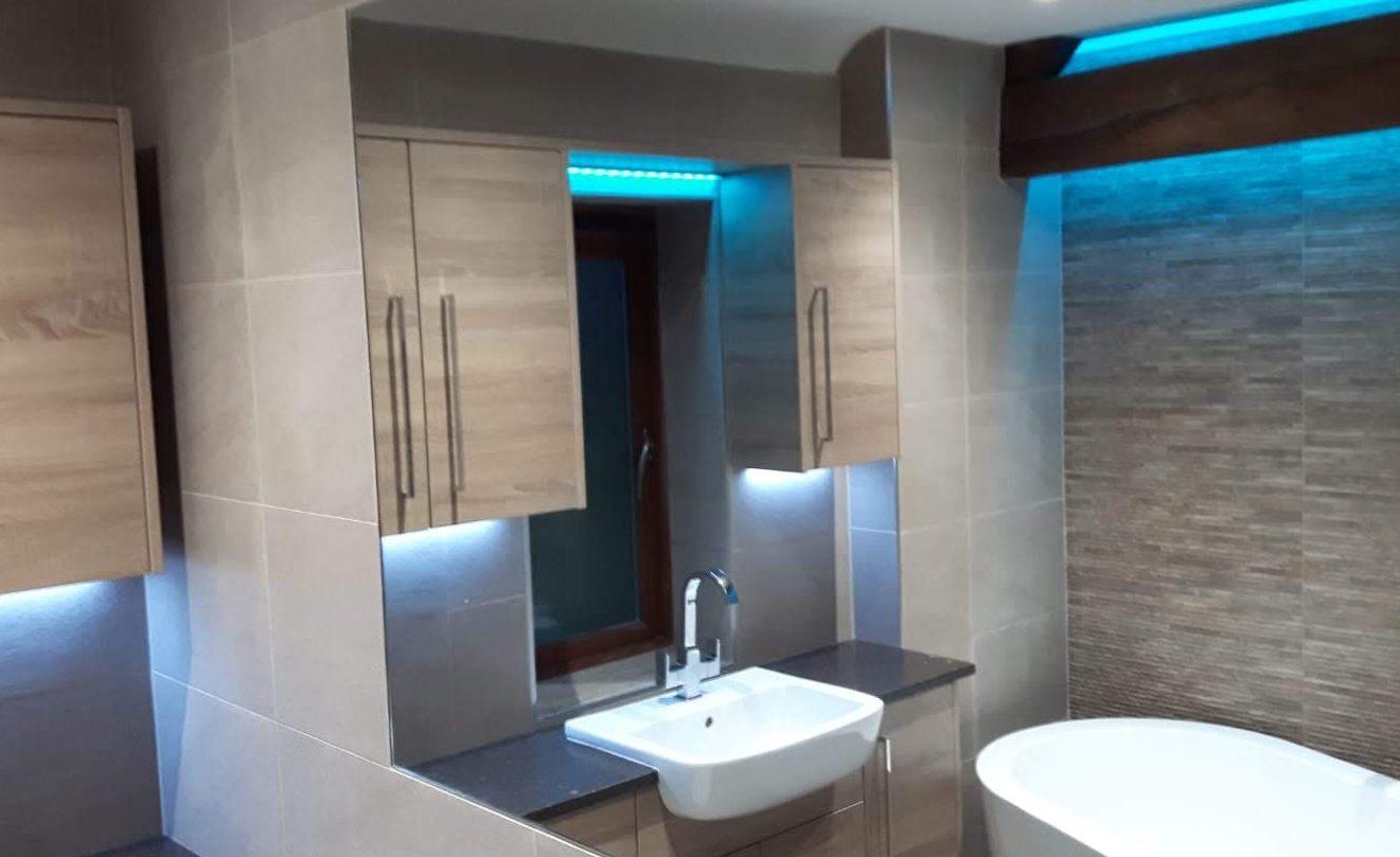 Bathroom lighting FIXED